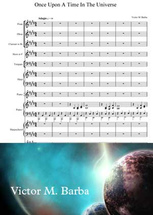Once Upon In The Universe With Sheet Music PDF By Victor M. Barba