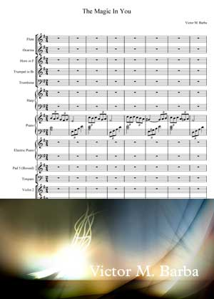 The Magic In You With Sheet Music PDF By Victor M. Barba