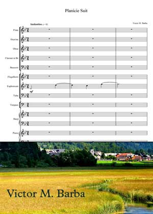 Planicie Suite With Sheet Music PDF By Victor M. Barba