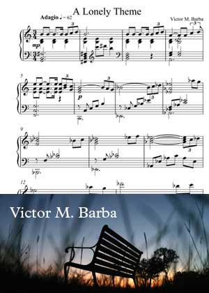 A Lonely Theme By Victor M. Barba