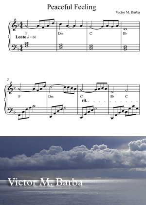 Peaceful Feelings With Sheet Music PDF By Victor M. Barba