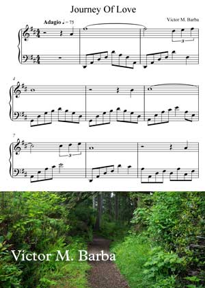 Journey Of Love With Sheet Music PDF By Victor M. Barba