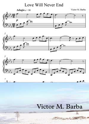 Love Will Never With Sheet Music PDF By Victor M. Barba