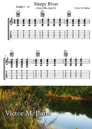 Sleepy River Sheet music in PDF By Victor M. Barba