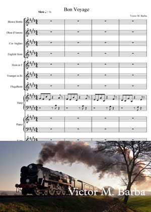 Bon Voyage By Victor M. Barba with sheet music in PDF