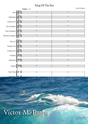 King Of The Sea By Victor M. Barba With Sheet Music in PDF