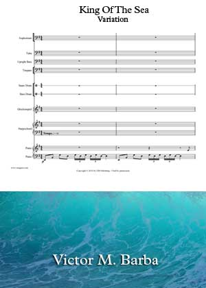 King Of The Sea Variation By Victor M. Barba With Sheet Music in PDF