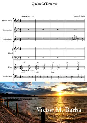 Queen Of Dreams By Victor M. Barba With Sheet Music in PDF