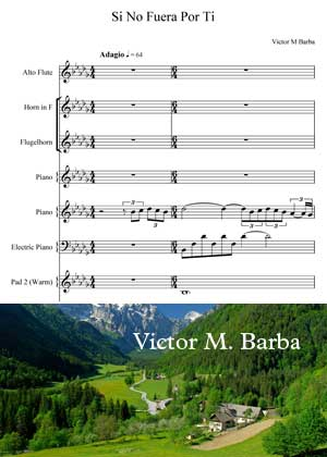 Si No Fuera Por Ti By Victor M. Barba With Sheet Music in PDF