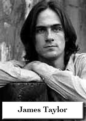James Taylor with sheet music in PDF