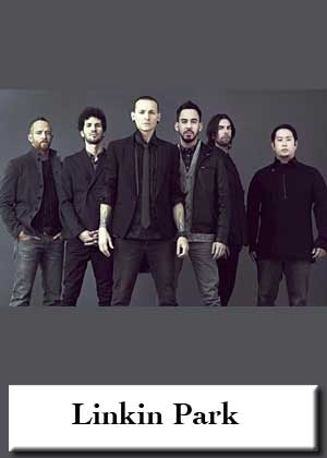 Linkin Park with sheet music in PDF