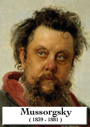 The Market By Modest Mussorgsky with sheet music in PDF