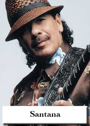 Santana with sheet music in PDF