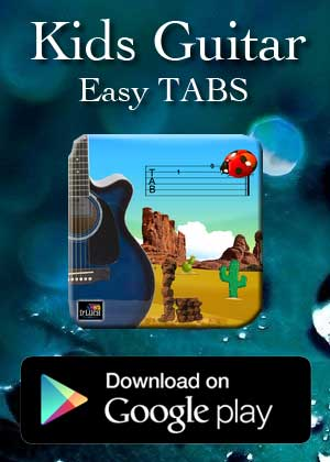 App Guitar Easy Tabs by Victor M Barba download in Apple Store and Google Play