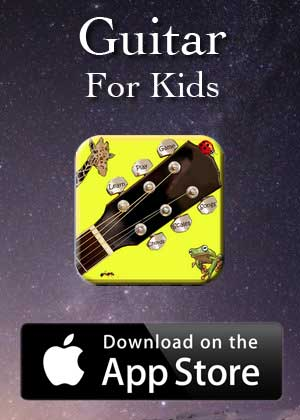 App Guitar For Kids by Victor M Barba download in Apple Store and Google Play