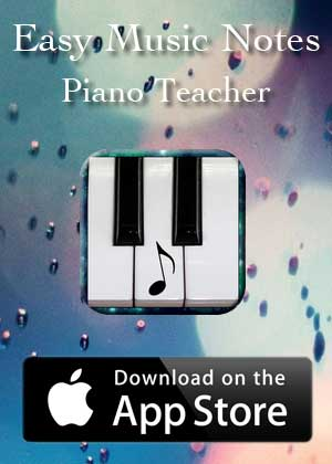 App Easy Music Notes Piano Teacher by Victor M Barba download in Apple Store and Google Play