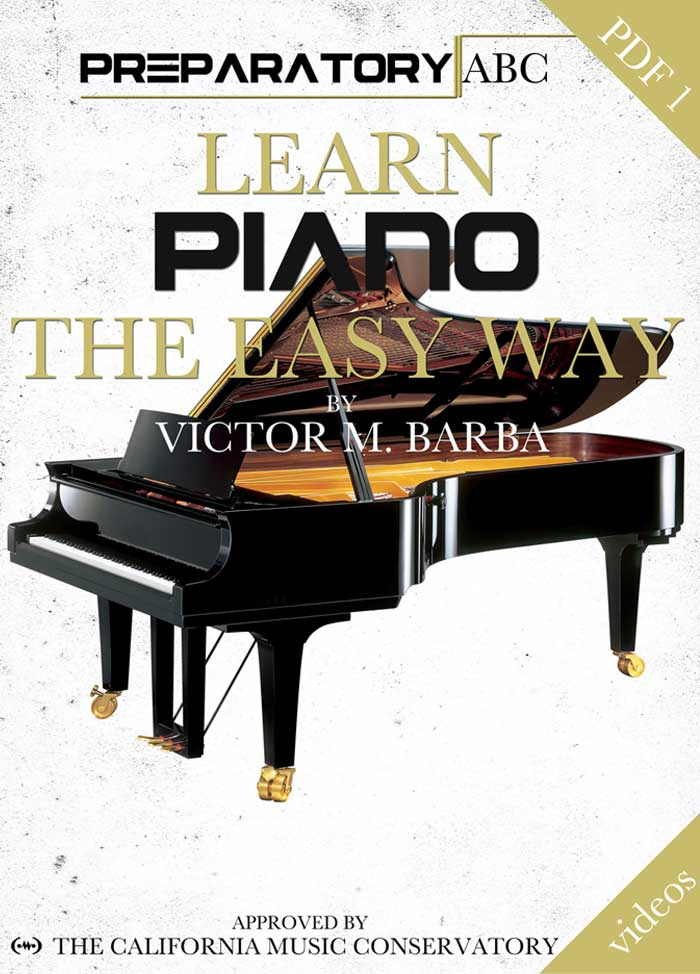 Learn Piano The Easy Way - e-Book PDF 1