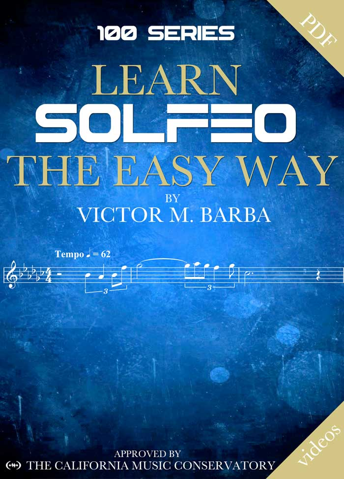 Learn Solfeo The Easy Way - 100 Series Cover Book