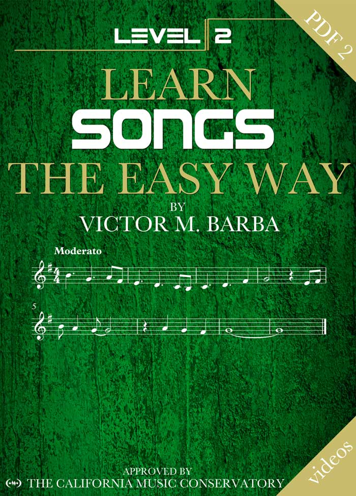 Learn Songs The Easy Way – 20 Songs Level 2