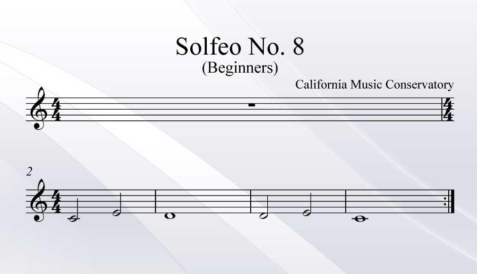 Solfeo No. 8