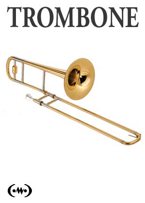 Learn to play trombone in songnes.com with tutorials, exercises, scales and songs for the trombone