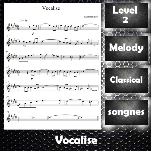 Vocalise By Rachmaninoff
