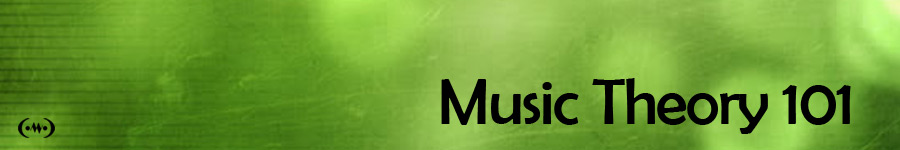 Music Theory 101 Main Banner