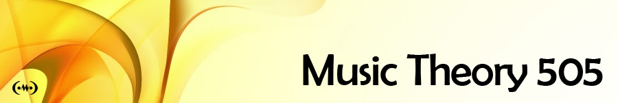 Music Theory 505 Main Banner